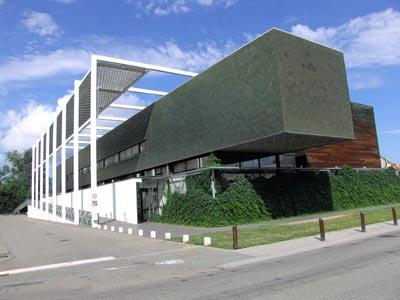 Vue du bâtiment sur www.mediatheque-selestat.net